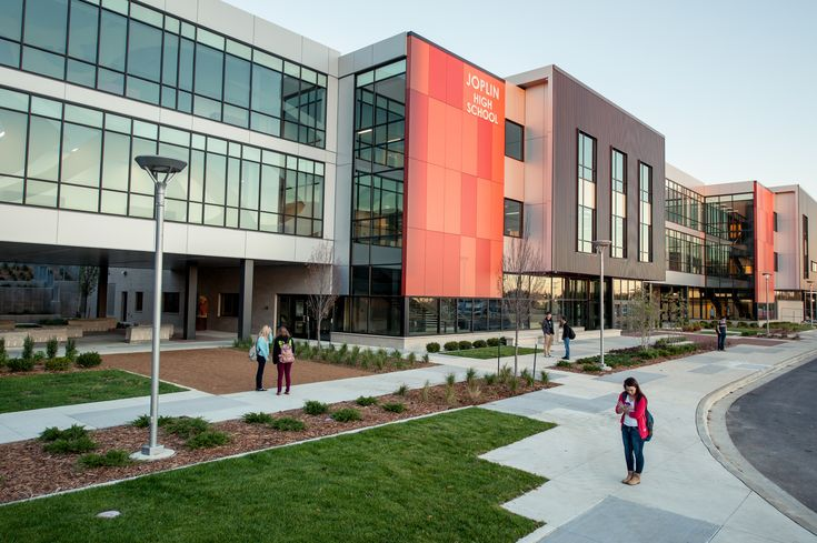 Fall 2014 Modern Builder Feature of Joplin High School - CGA Architects