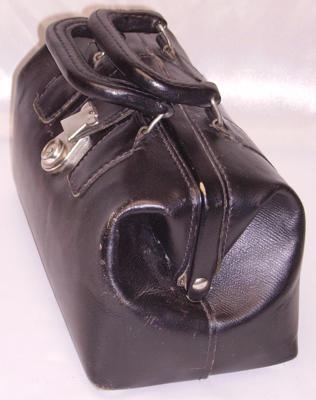 Vintage doctor's bag shape