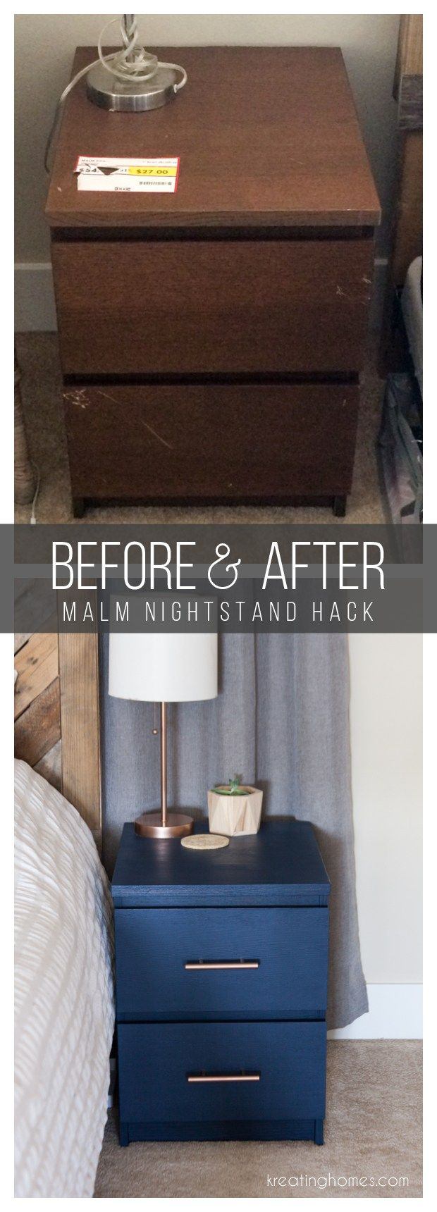 Ikea Nightstand Hack