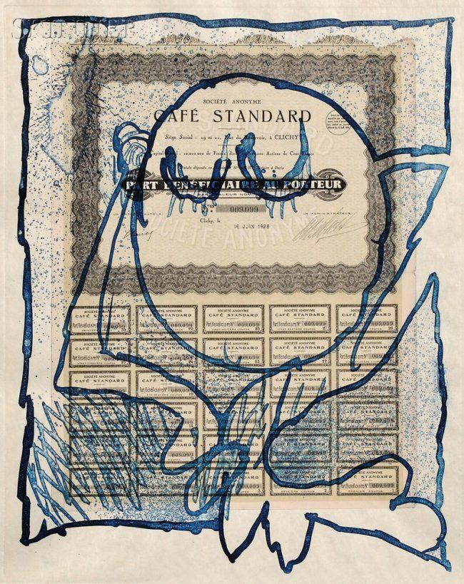 Pierre Alechinsky (Belgian, b. 1927) KRACH/A Portfolio. Aquatint and collage