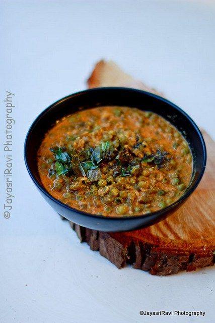 Cucumber-peas in mustard gravy