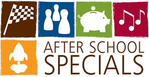 We plan amazing, fun programs for kids in K-5th grade every month at our After School Specials.  Learn to build a race car, experiment with colors, sounds, and lots more!  Check out our website or visit a library near you.