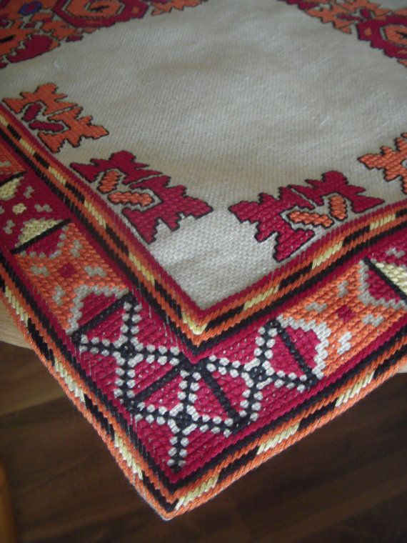 Handmade embroidered stole