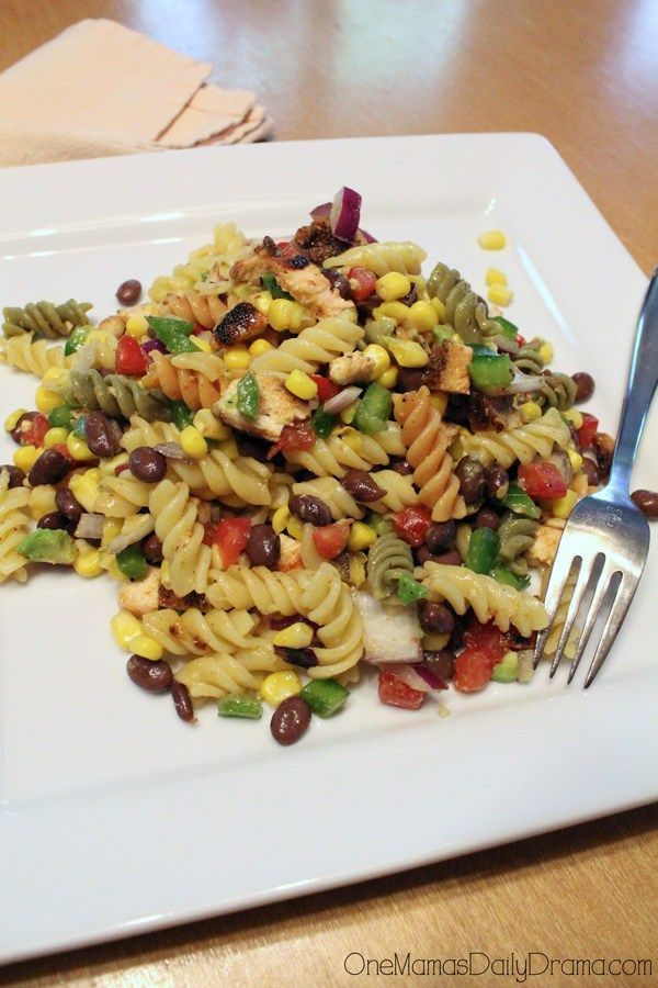 Spicy southwestern pasta salad recipe