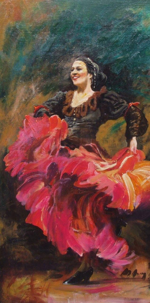 Alim Adilov: Latin tánc - Vándorfény Galéria