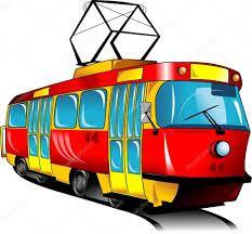 Znalezione obrazy dla zapytania tramwaj grafika