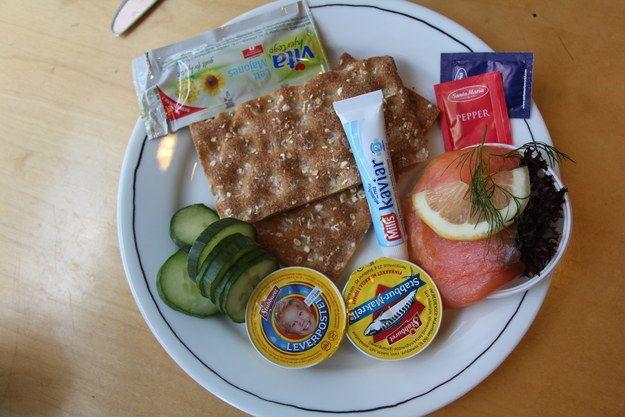 Matpakke: a light breakfast or lunch spread   A Tour Of Norway's Best Snacks