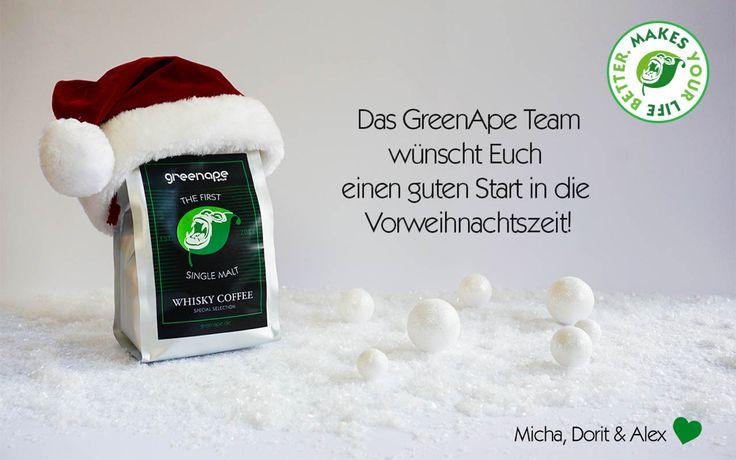 Wir wünschen Euch einen guten Start in die Vorweihnachtszeit :) und ein schönes Wochenende #greenape #micha #speyer #rheinlandpfalz  #dorit #alex #cloppenburg #löningen #niedersachsen #kaffee #power #espresso #whisky #coffee #singlemalt #koffeinkick #coldbrew #cappuccino #wochenende #advent #angebot #weihnachten #makesyourlifebetter