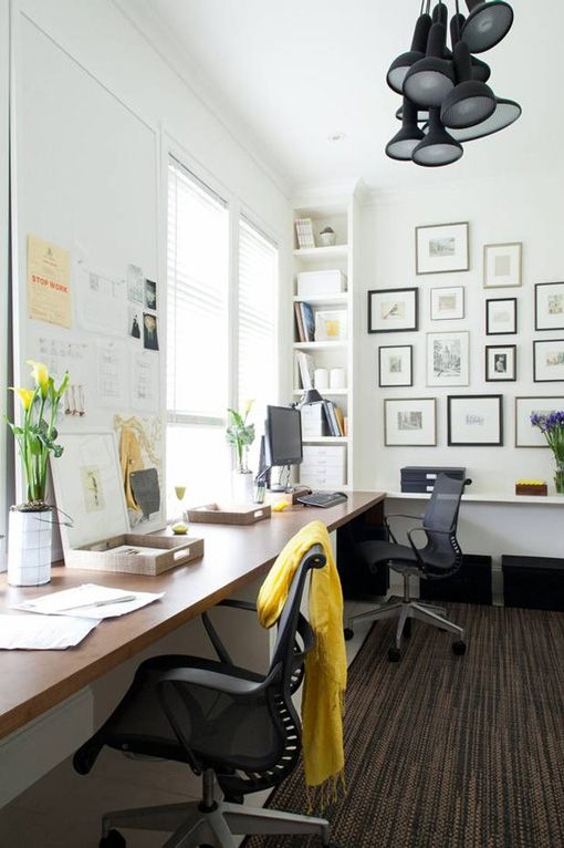 SOS An Organic But Very Neat Precise And Casual Gallery Layout Seen On Birch Bird Shared Workspace