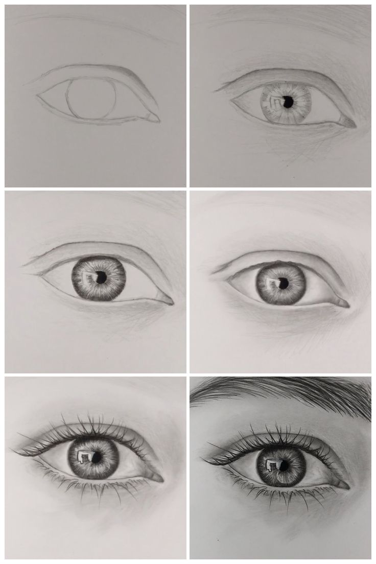 How To Draw Realistic Eye Step by Step – YouTube
