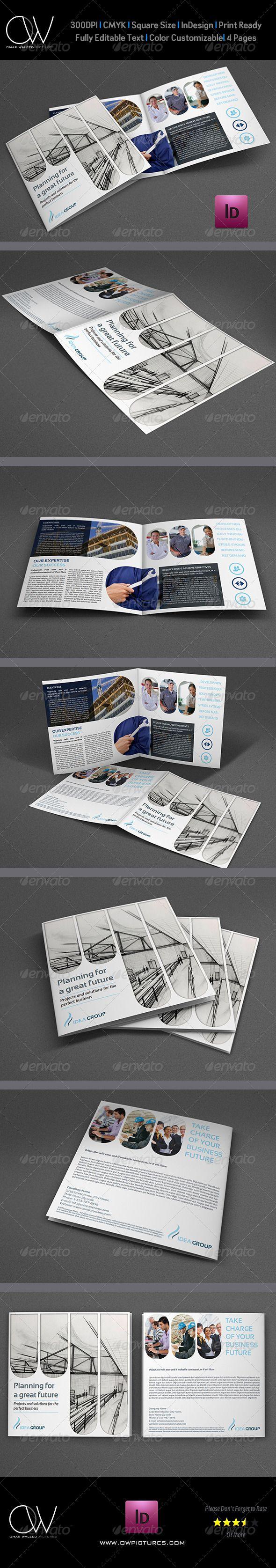 84 best Bi-Fold Brochure images on Pinterest   Brochure template ...