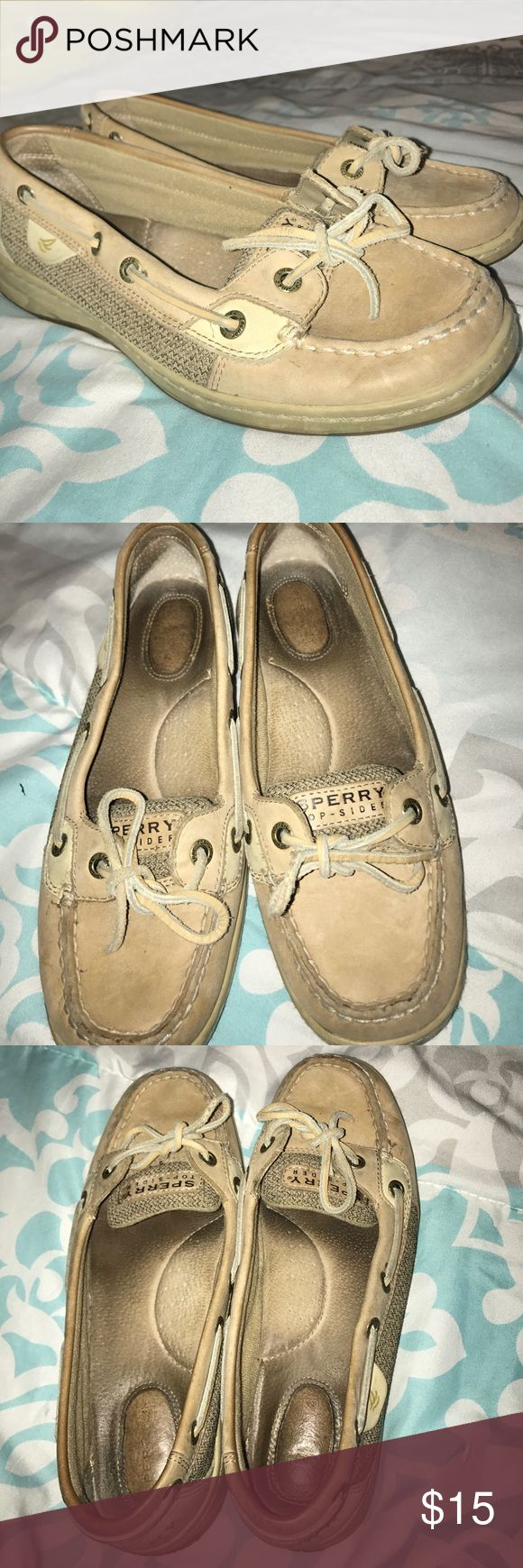 Original Sperrys used but good condition as shown in pics, very clean bottoms and most of wear is on the inside. fits a little big Sperry Top-Sider Shoes