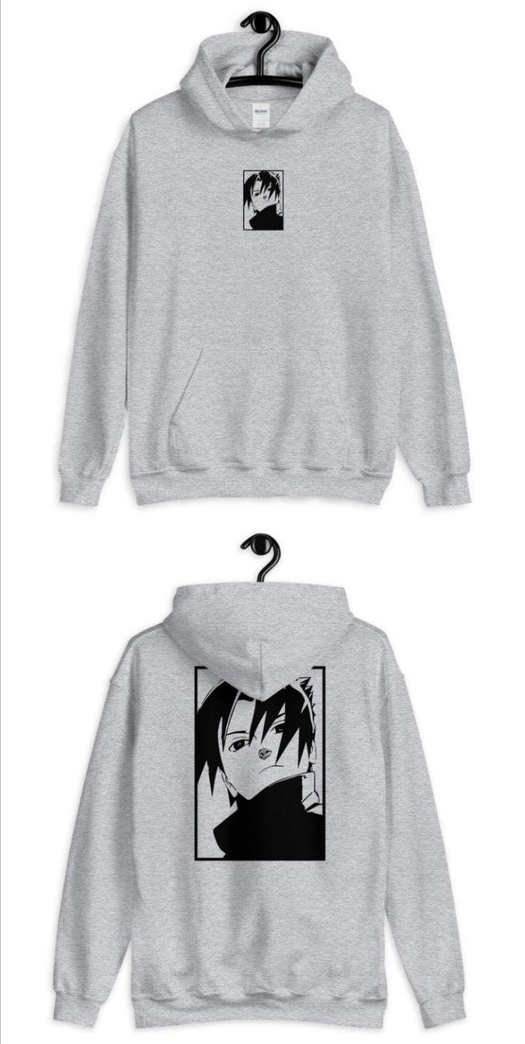 Naruto anime Sasuke Hoodie