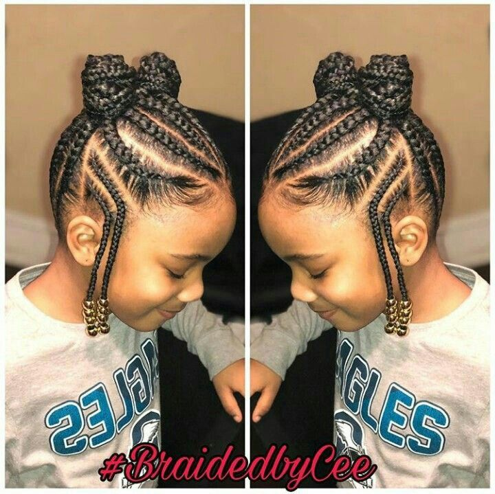Trabalho Lindo Natural Hairstyles For Kids Girls Hairstyles Braids Kids Braided Hairstyles