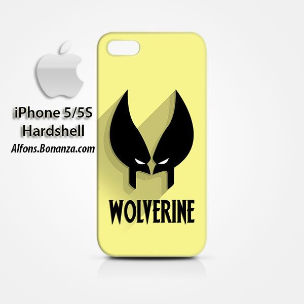 Wolverine Superhero iPhone 5 5s Hardshell Case