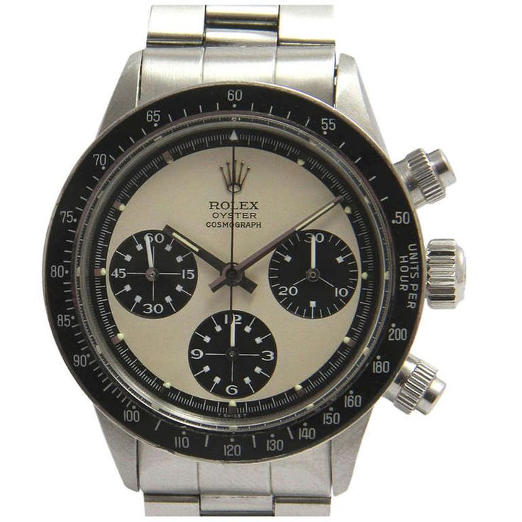 rolex stainless steel daytona cosmograph paul newman wristwatch ref