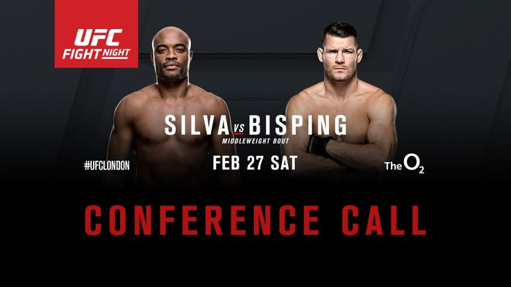 Replay Fight Night London  The big event is here. UFC Fight night Silva Vs. Bisping. After the tragic end to Anderson Silva's last fight when he broke his leg.  Also, check out Silva coped with his devastating leg break, as well as the aftermat...