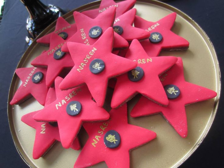 A Hollywood Themed Party - Baby Shower Ideas - Themes