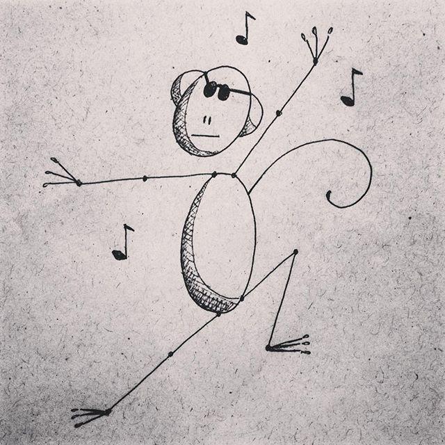 #mulpix  #macaco  #monkey  #mono  #cego  #ceguinho  #blind  #danca dançando  #dance  #dancing  #musica  #music  #solfejo  #notamusical  #desenho  #draw
