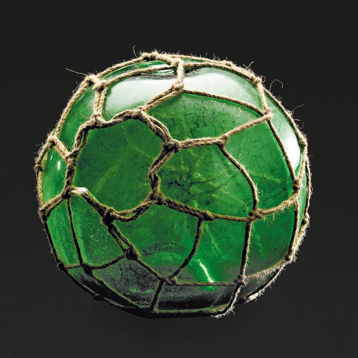 Aukció: 2017. március 8.: Bója; Felső-Tisza vidék, 19. sz. második fele, formába fújt zöld üveg