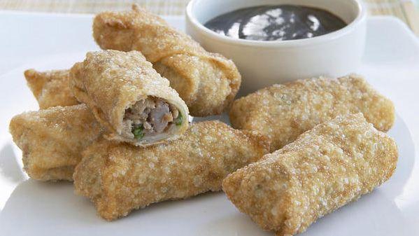 Hoisin duck wonton rolls recipe - 9Kitchen