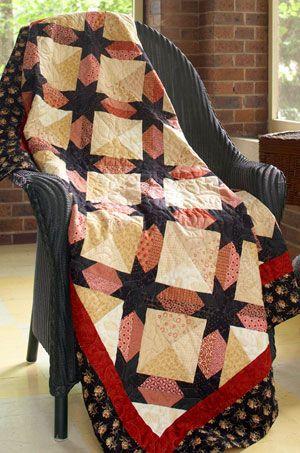 Star Tracks~pattern in Sew Scrappy