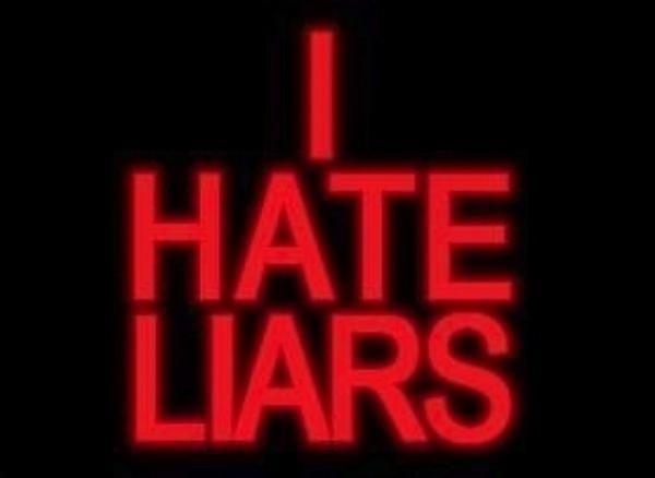 I hate liars ★ mys me ill s*** talkers