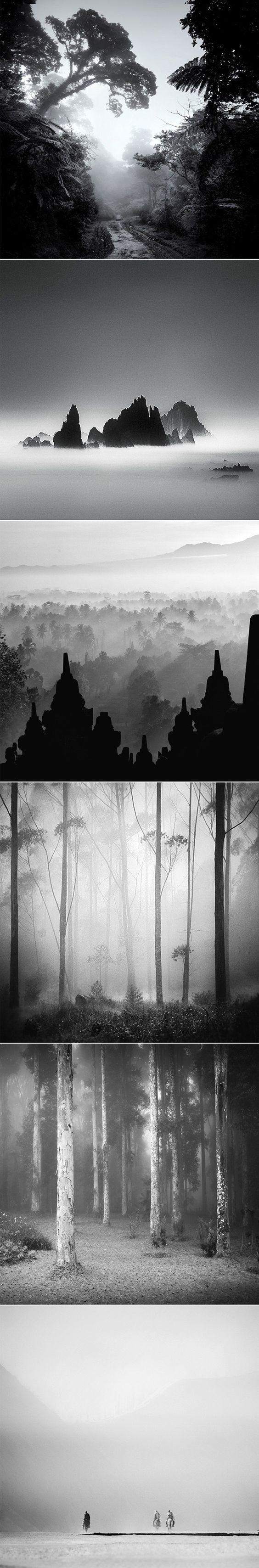 Photos noir et blanc par Hengki Koentjoro: