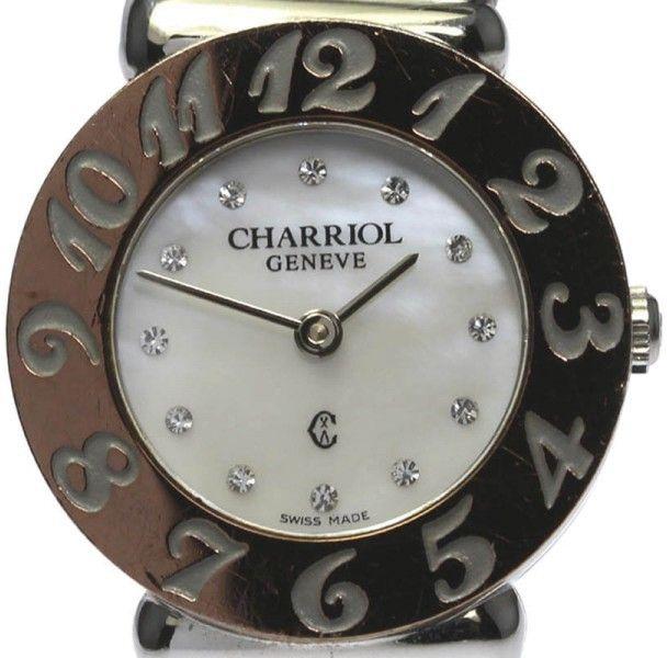 Philippe Charriol ST. Tropez Stainless Steel Quartz 24.5mm Womens Watch