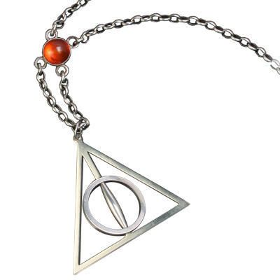 One of my favorite discoveries at HarryPotterShop.com: Harry Potter and the Deathly Hallows: Xenophilius Lovegood Necklace