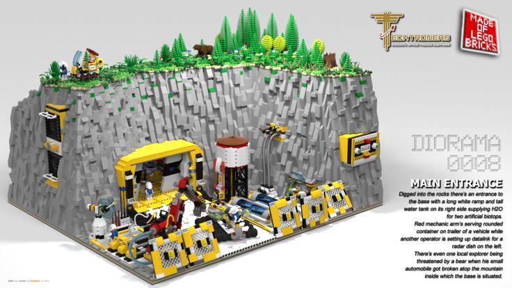 My LEGO dioramas.