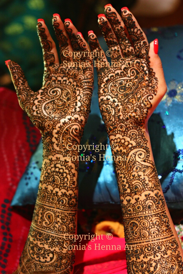 Henna Tattoo Toronto : Copyright � sonia s henna art bridal inspired by