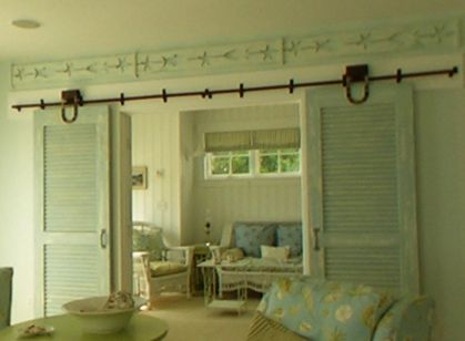 57 best images about room dividers on pinterest sliding for Barn door room divider