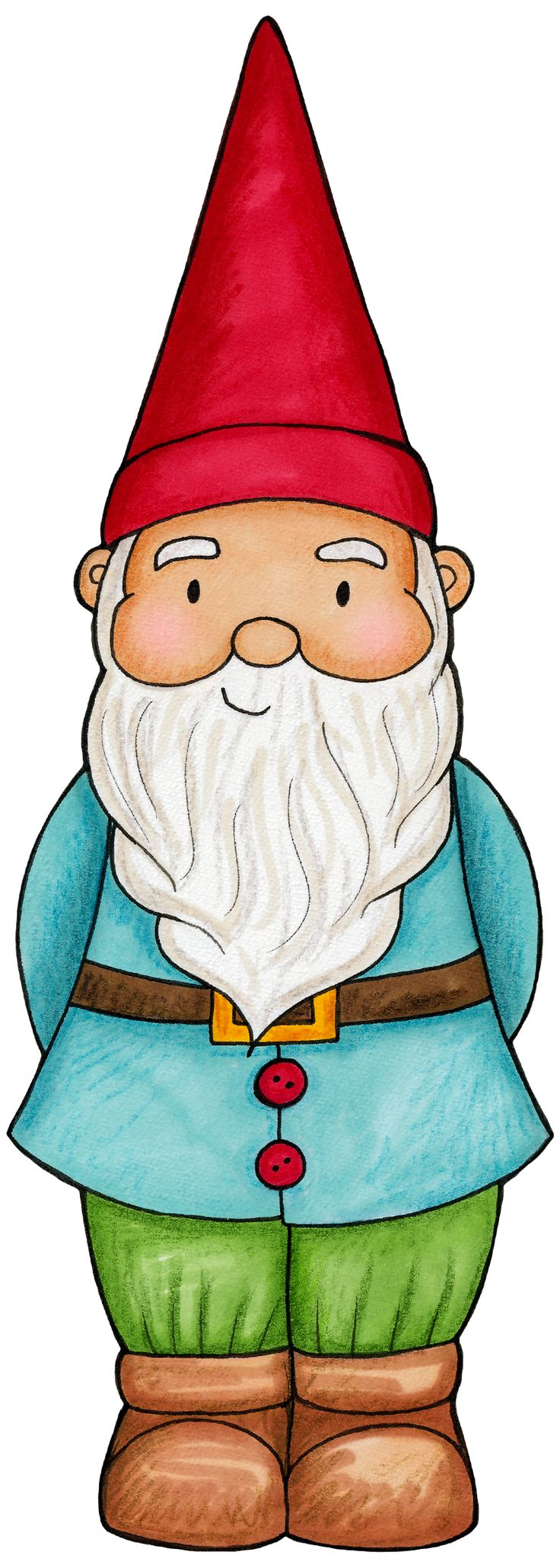 Gnome Clip Art: Fairy & Woodland Birthday