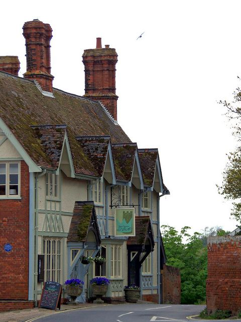 The Crown & Castle, Orford, Suffolk. Our tips for 25 fun things to do in England: http://www.europealacarte.co.uk/blog/2011/08/18/what-to-do-england/