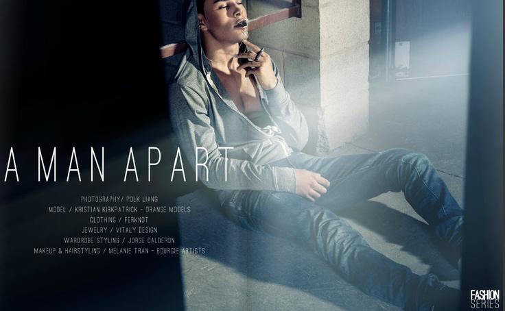 Job: Fashionseries Magazine  Orangemodel: Kristian K.  www.orangemodels.ca