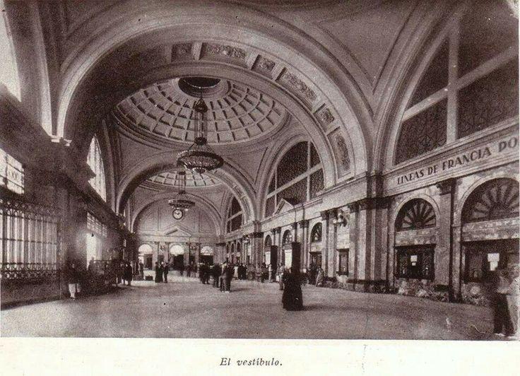 Estación de Francia 1930, Barcelona. El Laberinto de los Espíritus, de Carlos Ruíz Zafón.