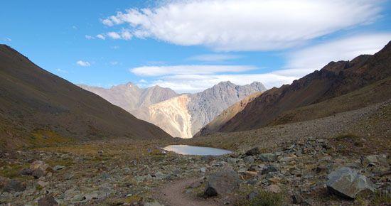 Monumento Natural El Morado. Cajón del Maipo, Chile. //  El Morado Natural Monument. Cajon del Maipo, Chile.