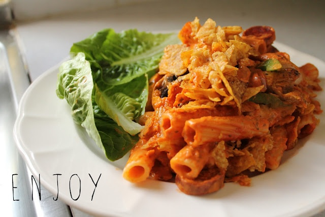 From Gem with Love | UK Lifestyle Blog: My indulgent & spicy pasta bake