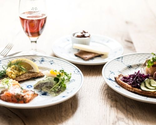 Easter lunch with beer and aquavit at Restaurant Kronborg Copenhagen