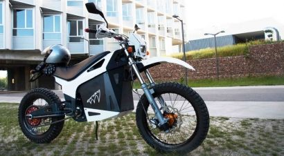 Moto, eléctrica y cien por cien española