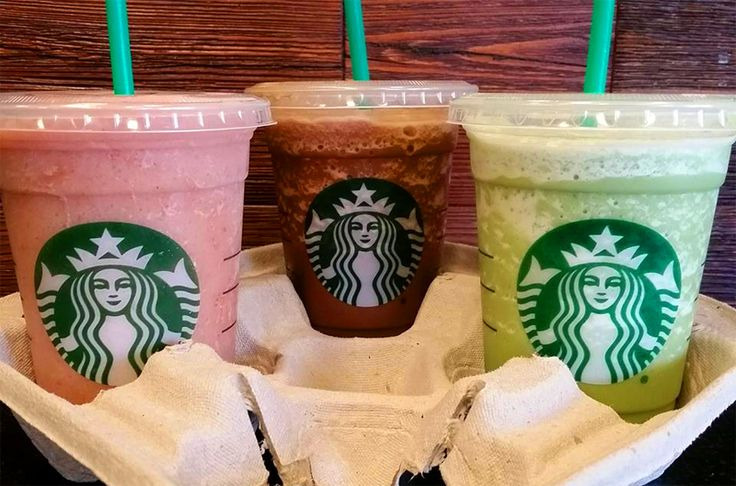Vegan Starbucks Frappuccinos