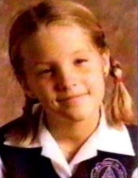 Lisa Marie Presley - School Photo