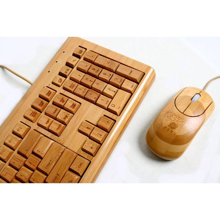 $50.03 100% Bamboo Handcrafted Keyboard