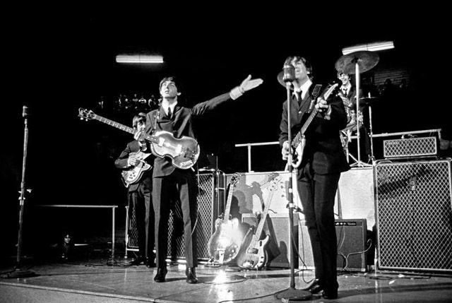 Copyright Curt Gunther. Shot during the Beatles first North American Tour in 1964: The Beatles, Display Photos, Beatles Yeah, 1964 2012 06 14 Gunther Jpg, Beatles Performing, 1964 Beatles, Beatles Tours, Beatles Photographers, Rare Photos
