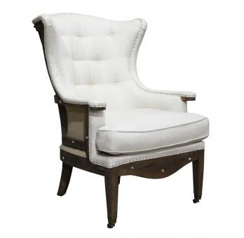 Bardot Wingback Chair. A Block and Chisel Product.