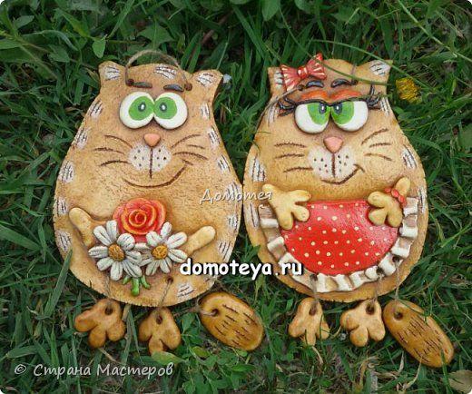 Всем привет, кто заглянул на огонек  =)  Первая парочка - коты-обжорки фото 4