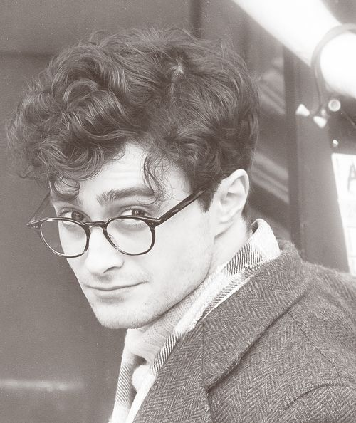 ||FC: Daniel Radcliffe.|| This is one of the characters. His name is Mark, he's 22 and he's a Server.