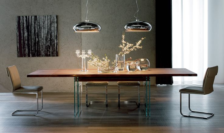 Ikon Drive Extending Table By Cattelan Italia With The You Can Host Dinner For Up To 6 Persons
