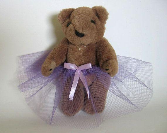 skirt tutu tulle nutka_art handmade teddy  bear by nutkaart